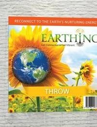 Earthing Throw - Organic Cotton UK Mains