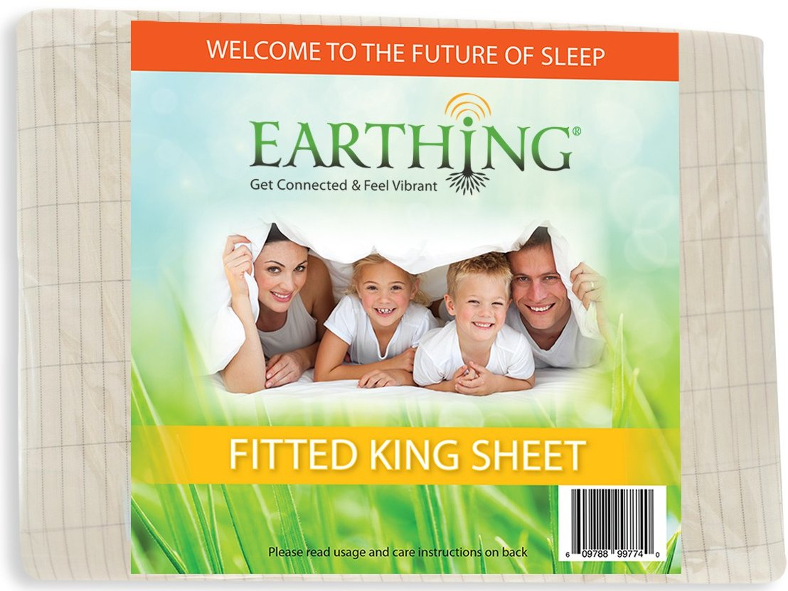 super king size fitted earthing sheet